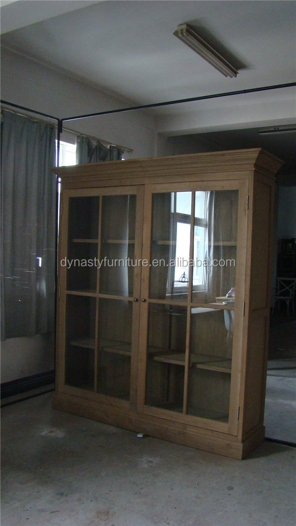 wooden antique elm display <strong>cabinet</strong> in living room home furniture