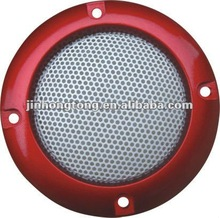 JF-2# hiviCar diy dj Polk Audio 1 Pair with Clips and Cover Decorative Circle Metal Mesh Grille