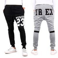 New Fashion Men's Long Haroun Pants Sports Casual Wear Training Loose Trouser Elastic Waist SV004022