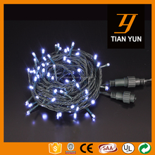 Outdoor 100L 10M Christmas Light LED String Light Christmas Tree Light With Connector