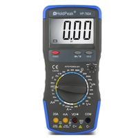 AC DC Voltage and Current Capacitance Test HP-760A True RMS Digital Multimeters