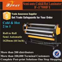 Adjustable Height Pressure Max temperature 120 Celsius cold & hot semi auto laminator