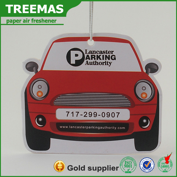 Customized car auto hanging air freshner