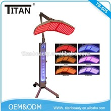 TB-505 Strong power PDT Light Therapy / PDT LED for Hair Losing Skin Rejuvenation Bipolar RF face lifting beauty machine