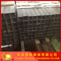 building material ASTM A500 MS square hollow section