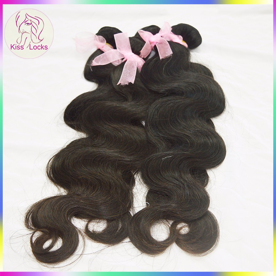 Machine Double Drawn Weft Virgin Hair 100% Human Mongolian Healthy Girl Wonderful Straight Bundles Free Shipping