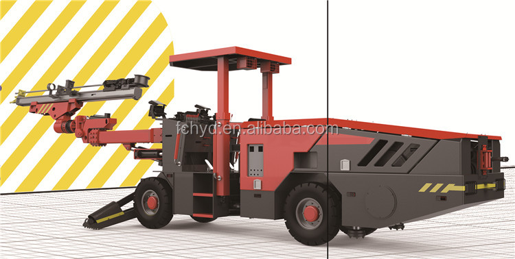 Double Walking Power Face Drilling Rig with Wonderful Performance