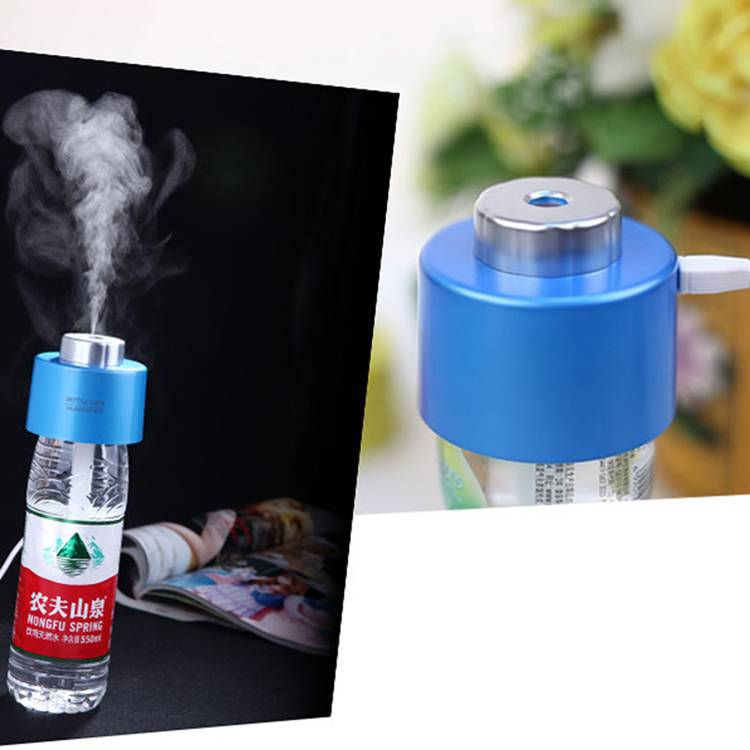 Mini capsule type USB air humidifier water bottle humidifier