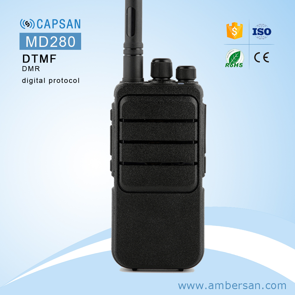 Portable Two Way Radio Dual Band 10km Long range waterproof Walkie Talkie