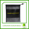 Wholesale small polyester mesh bag with drawstring