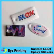 High quality fancy epoxy crystal sticker- dot