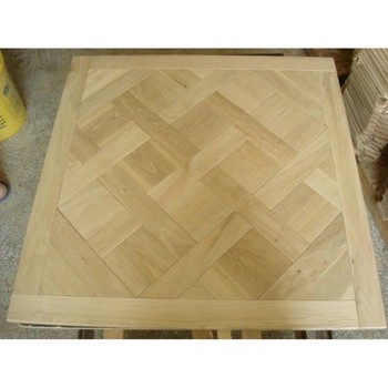 Mortise and Tenon French Versailles Parquet Oak Wood Flooring