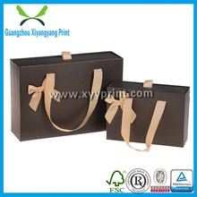 Custom Square Bottom Rice Shopping Paper Bag, Food Paper Bags Wholesale