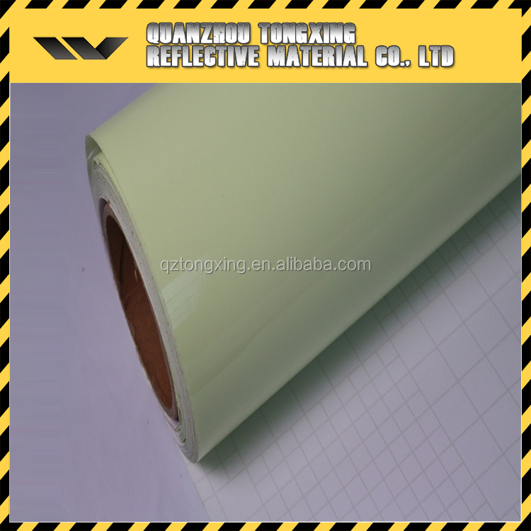 Best Seller Reflective Material Glow-In-The-Dark Fabric,Reflective Sheeting,Glow In The Dark Vinyl