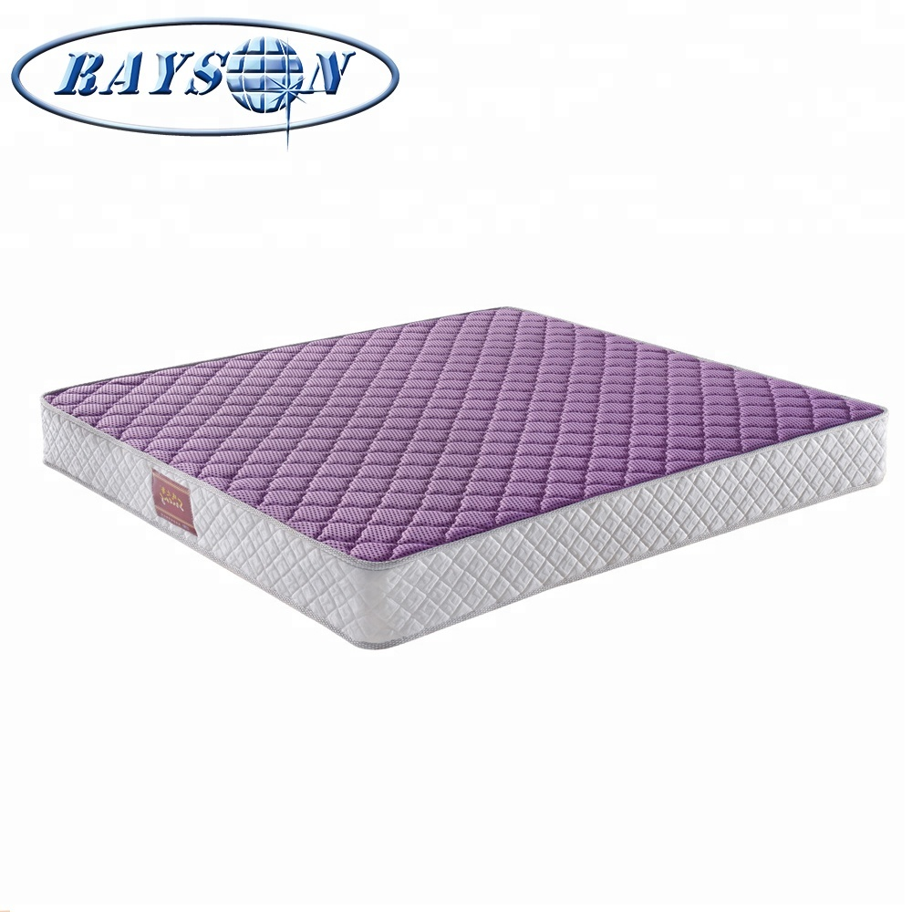 China Suppliers Breathable Purple Comforter Mattress Anion Knitted Sponge Bonnell Spring Coil Mattress - Jozy Mattress | Jozy.net