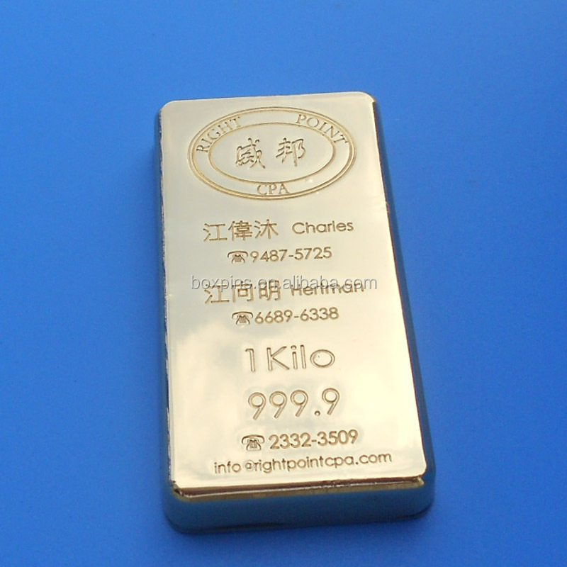 Hot selling high quality custom gold bar tungsten wholesale