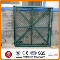High Quality Courtyard Chain Link Gate Fence