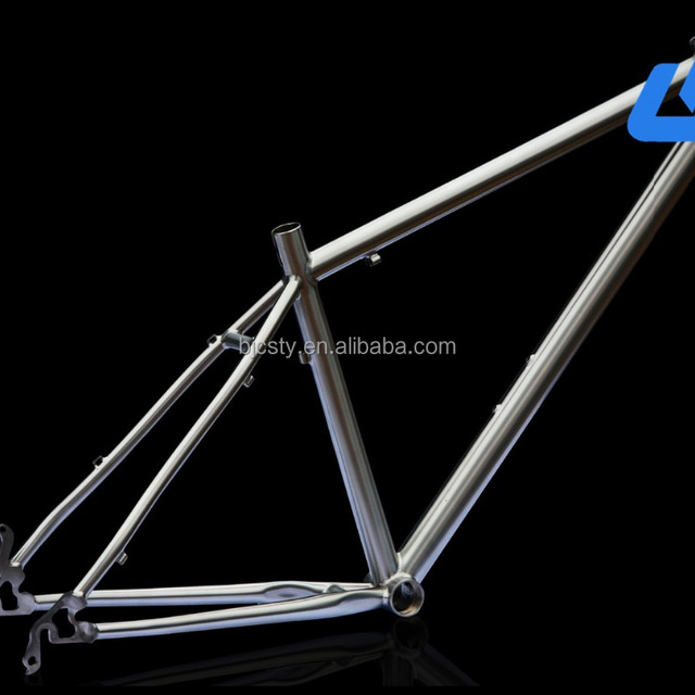 titanium grey titanium road bike frame best price per piece