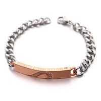 Fashion jewelry top quality 316L stainless steel bracelet, fine gifts for women magnetic healthcare bracelet