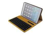 High quality stand clamshell protective wireless bluetooth keyboard case for iPad mini1 2 3-IP201F