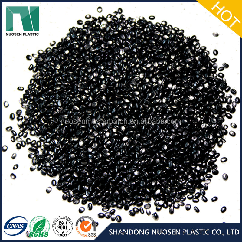 High dispersed black blow film masterbatch for PE agricultural mulching film with competitive price