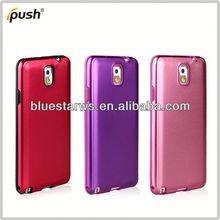 For Samsung Galaxy Note3 Hybrid Silicone & Metal Protective Case for samsung galaxy note china price