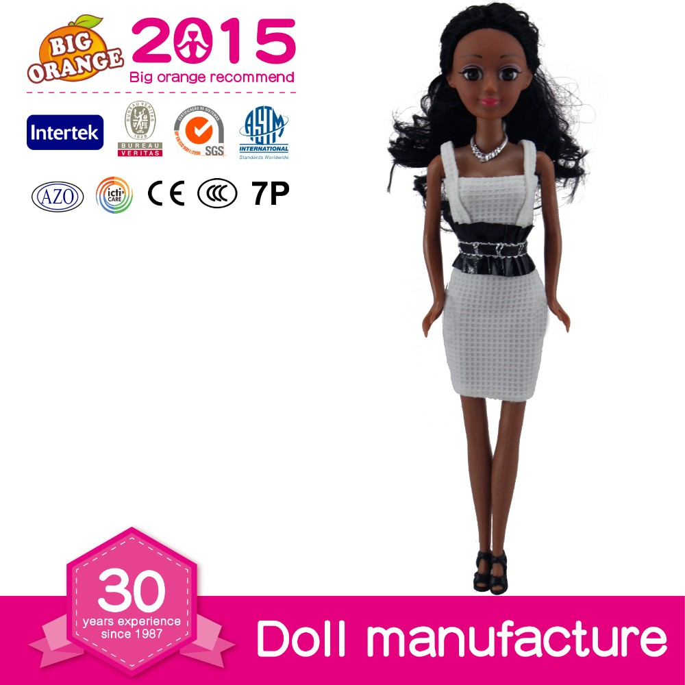 Elegant And Fashion Black Dolls For Children