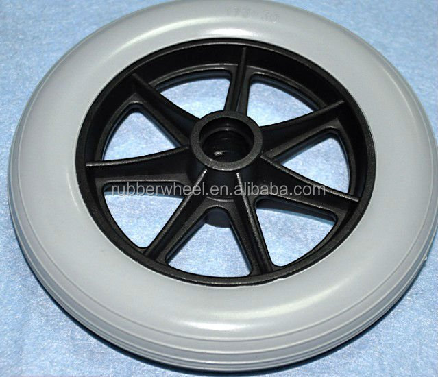 7 inch pu wheel;Toy car wheel;Wheel chair