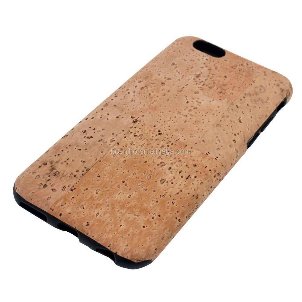 Boshiho ECO-Friendly Natural Cork Designed Case Cover for iPhone 6