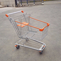 Ovel-tube wheeled shopping trolleys