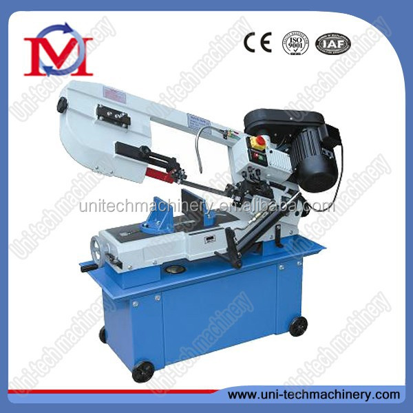 steel cutting saw machine