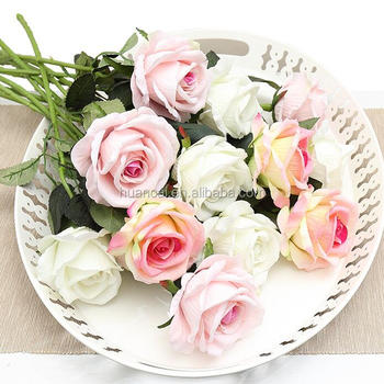 Artificial flowers wedding decorations silk flowers artificial roses 51cm