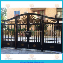 2016 decorative cast aluminum garden gates iron courtyard gate