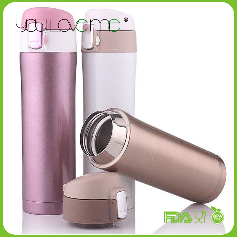 Good quality new products stainless steel vacuum flask keeps drinks hot and cold for 24 hours