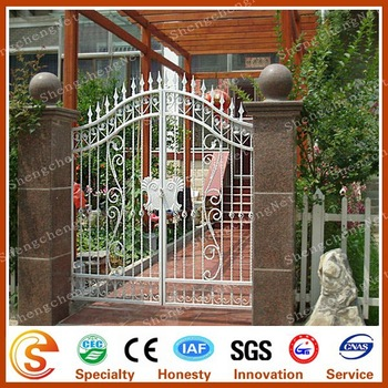 House Metal Front Entrance Gate Design With High Standard