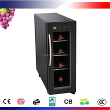 4 Bottles Thermoelectric Small Wine Cooler CW-13FD