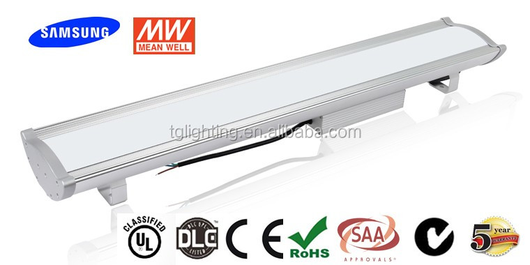 Industry linear design for MeanWell driver,Non-flickering for led high bay lighting
