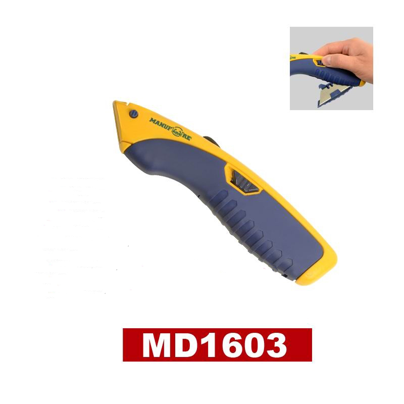 9mm SK5 pocket cutterutility folding knife with zinc alloy case