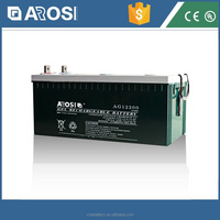 Sealed 12 volts agm gel vrla storage 12v 220ah battery