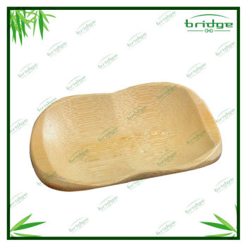 Natural bamboo magnetic soap holder