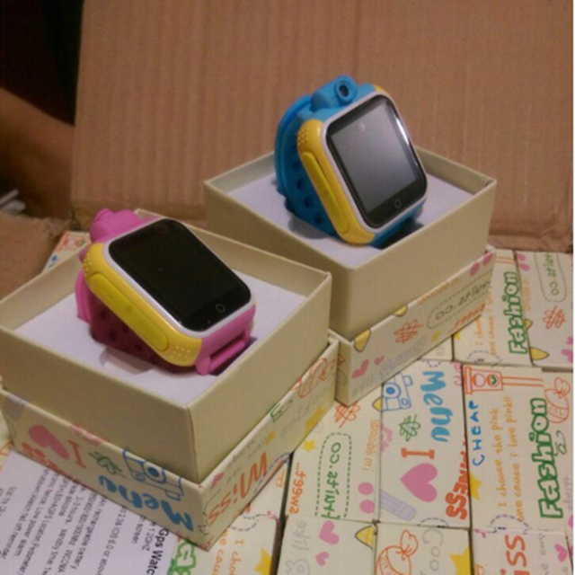 Good quality wireless thermometer G75 body temperature monitor smart alarm watch for kids