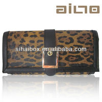 2014 hot sale silk Leopard ring elegant fashion lady handbag