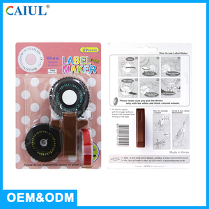 Comfortable Cute Design Label Maker Korea Code Printer