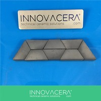 Silicon Carbide Ceramic Bulletproof Tile For Vehicle / INNOVACERA