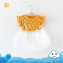 SD-1206G online shopping india dot lace dress birthday dress 1 year old gir baby dress designs