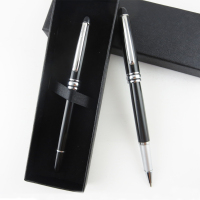 wholesale promotional stainless steel luxurious metal roller ballpoint pen