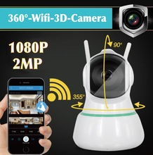 3D Cruise Camera 360 Degree HD Wireless WiFi Two Way Audio smart home baby pets CCTV security Panoramic IR P2P 1080P IP Camera