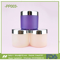 8oz 250ml and 100g PET Plastic Cosmetic Jar
