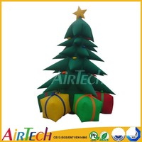 Special inflatable christmas tree with presents,christmas decorations