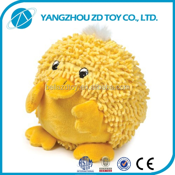 high quality fashion new style green mini plush chicken toy